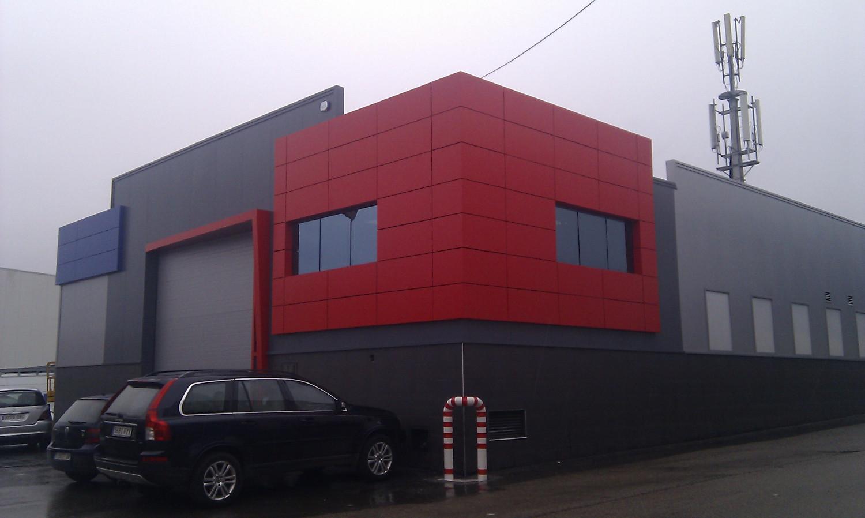 Talleres mayba fabricaci n y montaje de estructuras - Fachadas de talleres ...